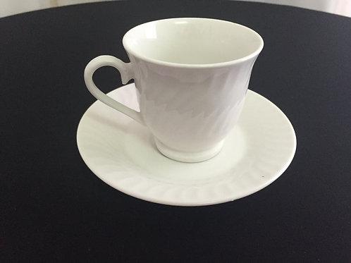 Tea Cup & Saucer #1
