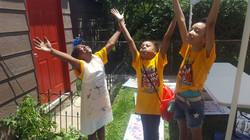 praying nekes students