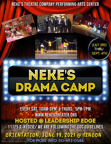 Copy of SUMMER THEATER CAMP FLYER TEMPLA