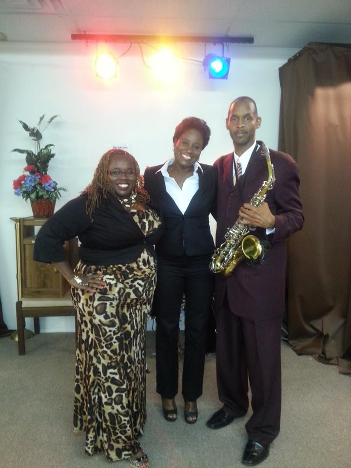 Sax Preacher and Audrey Kenner