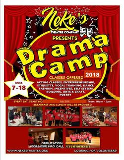 Nekes Drama Camp 2018