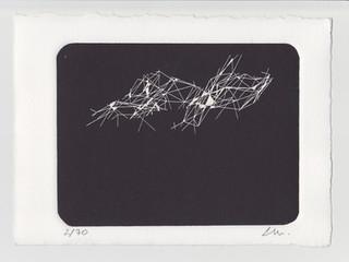 INTERUPTED LANDSCAPE_2018/19 Serigraph of 70.