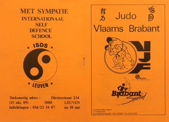 3. Judo Vlaams Brabant - 1989