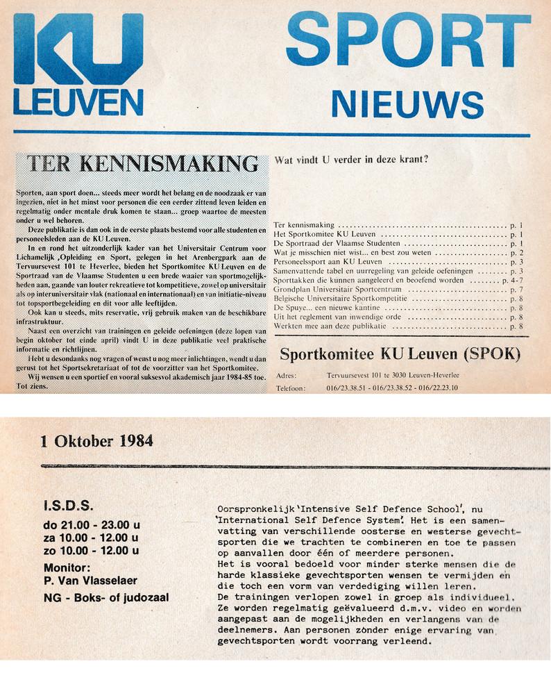 1. KU Leuven Sport 1984