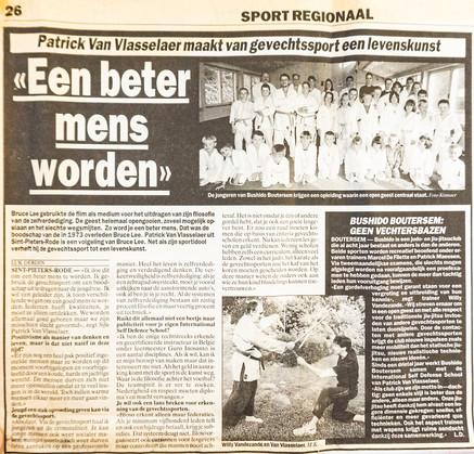 22.  Sport Regionaal 1999