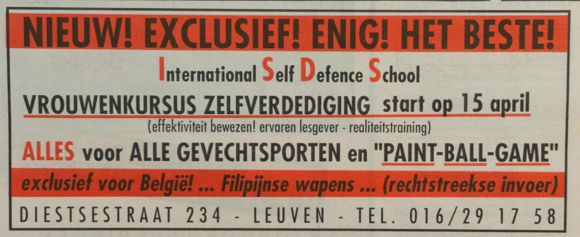 11. Zelfverdediging voor vrouwen 1991