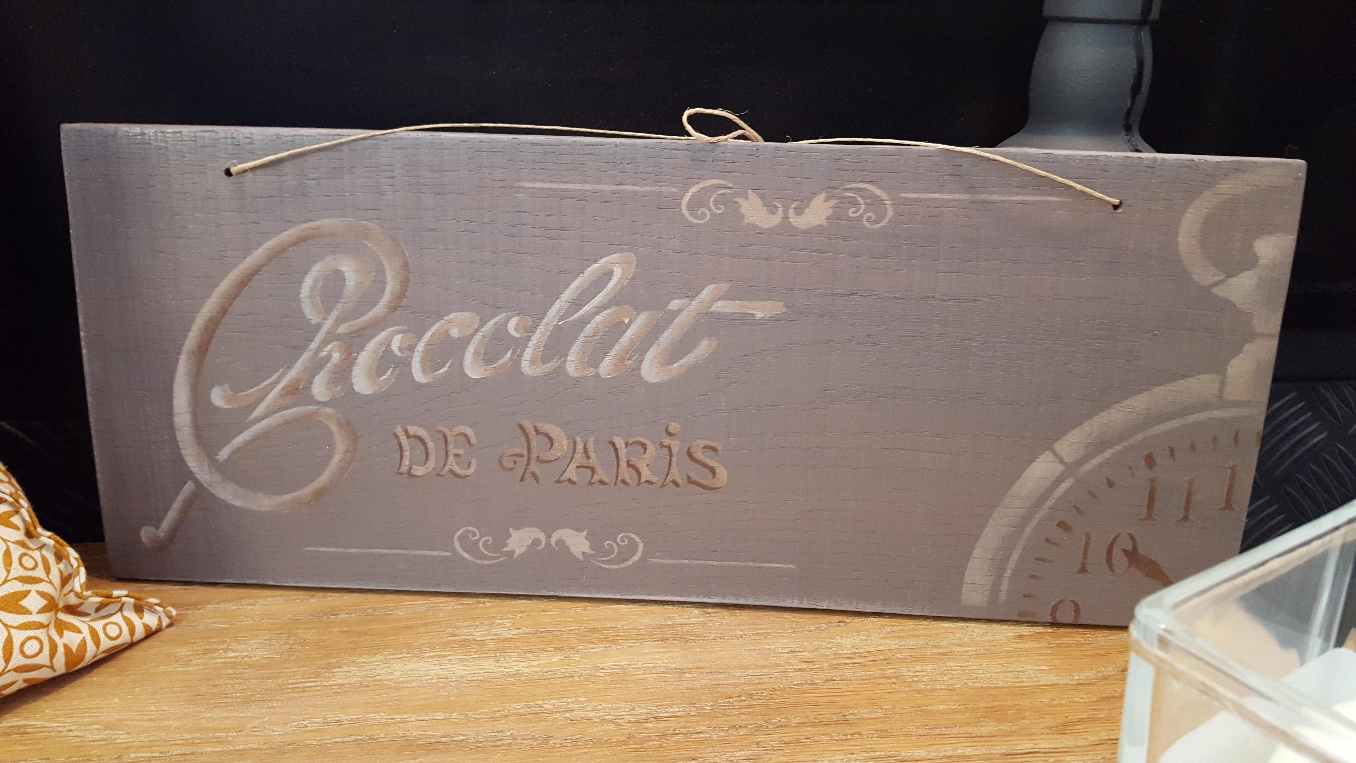 Plaque Chocolat Num : 2 Vendu
