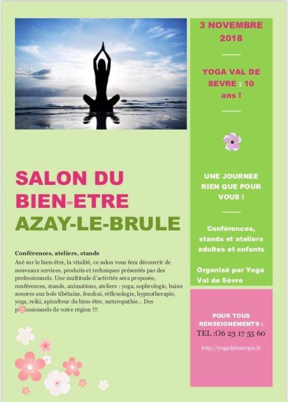 Salon du bien être à Cerzeau ce samedi de 13 h à 21 h