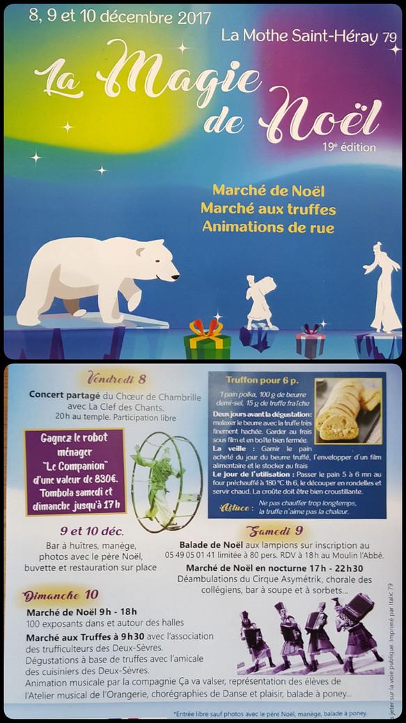 Marché de Noël à la Mothe St Héray