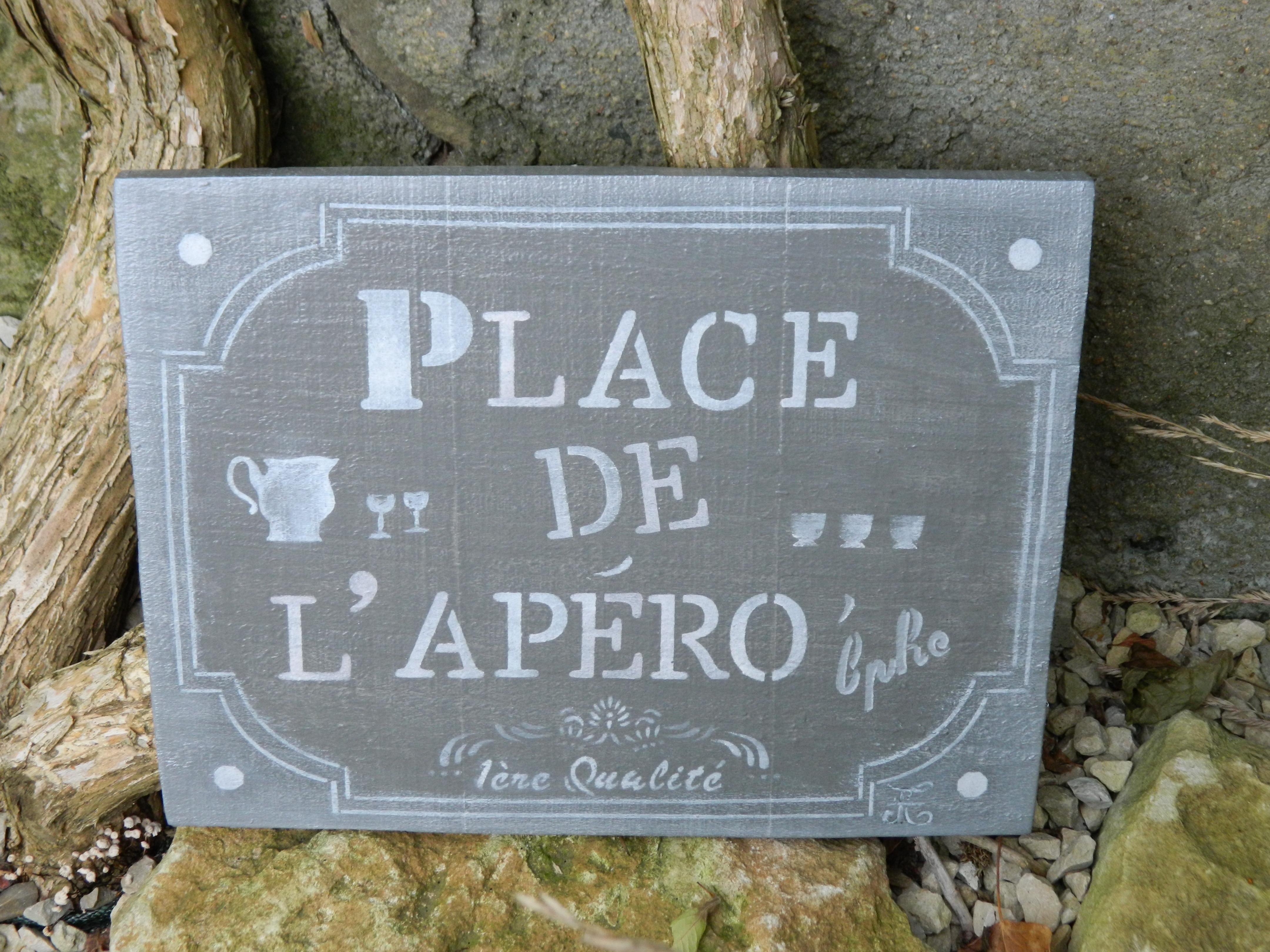 Plaque Place 02 Vendu