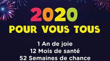 Nouvelle Année 2020 & Jours favorables