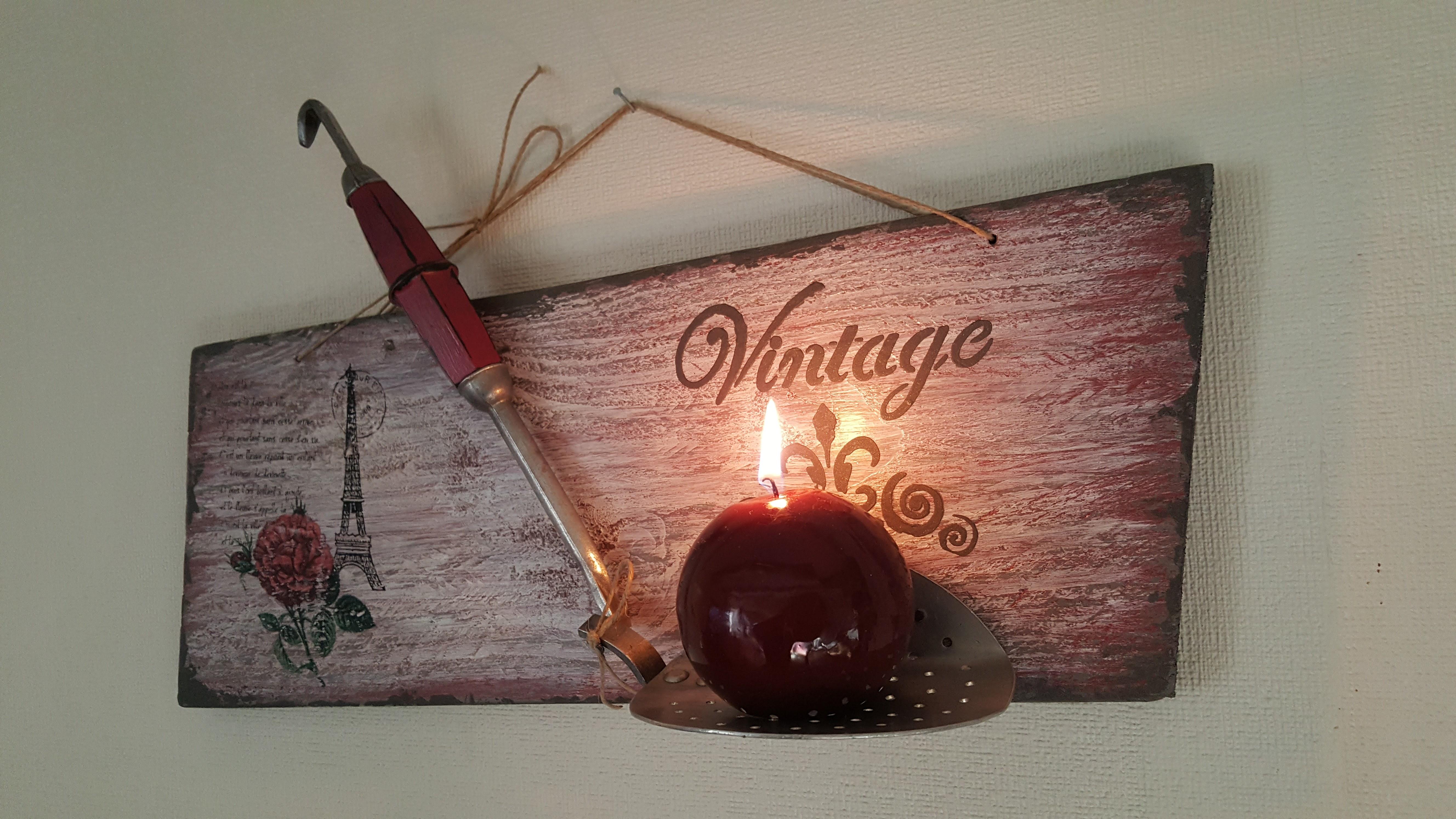 Photophore Vintage
