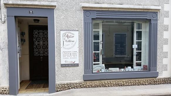 Ouverture de l'atelier Célèse boutique