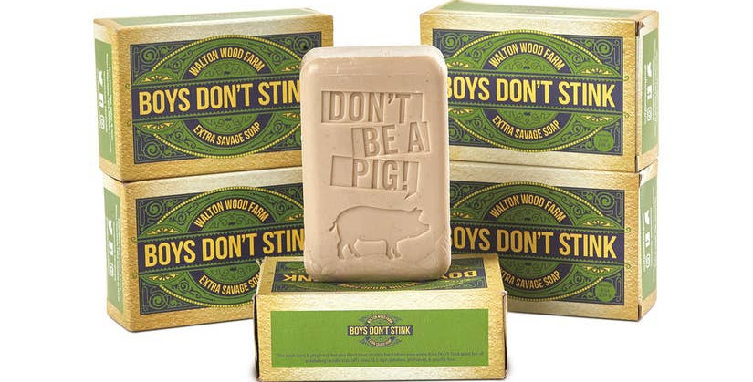 Boys Don't Stink XXL Oatmeal Soap Bars