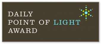 Co-Founder KaCey receives a Daily Point of Light Award