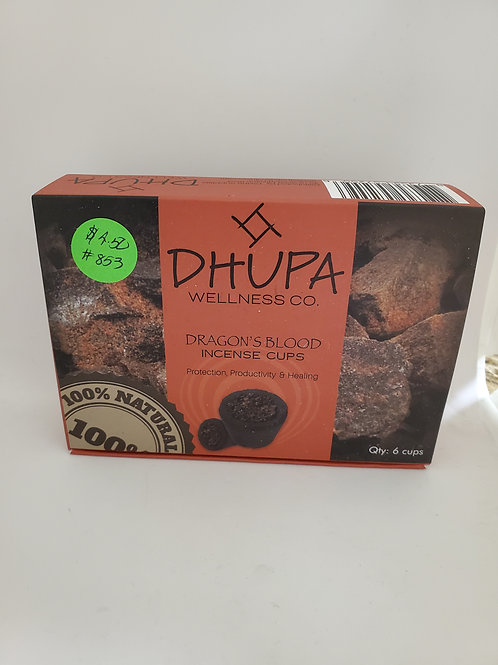DHUPA Dragons Blood Blessing Cup