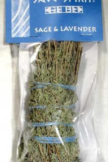 Sage & Lavender Smudge Stick