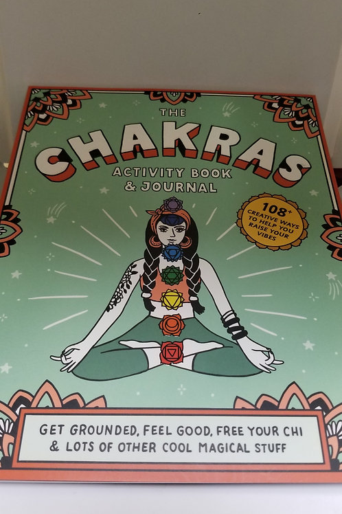The Chakra Activity Book & Journal