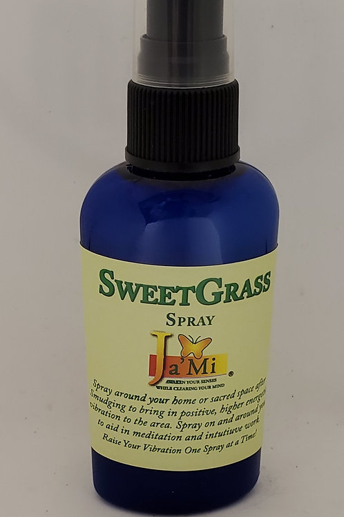 SweetGrass Spray by Ja'Mi