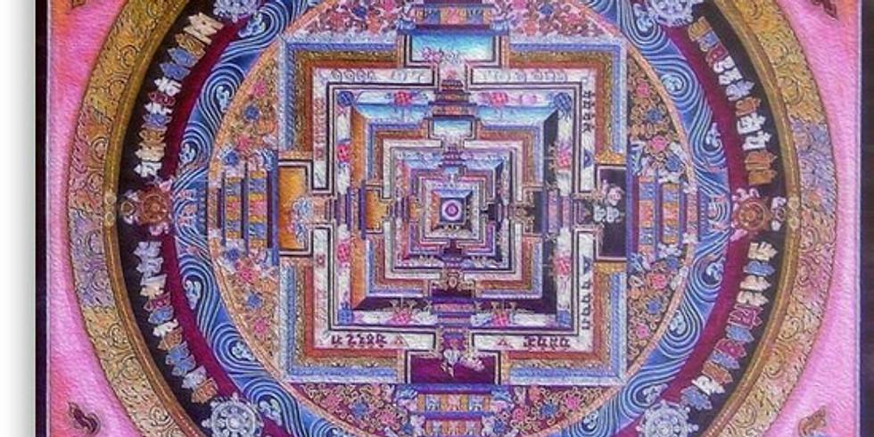 Vedic Yantras/Mandalas Art Class with Colored Pencils
