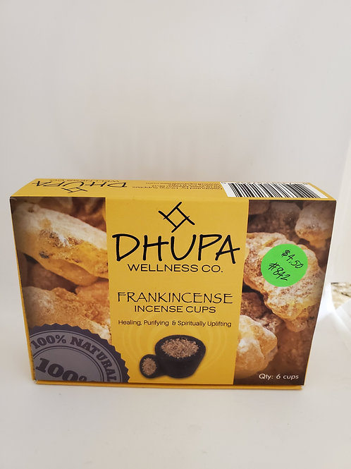 DHUPA Frankincense Blessing cups