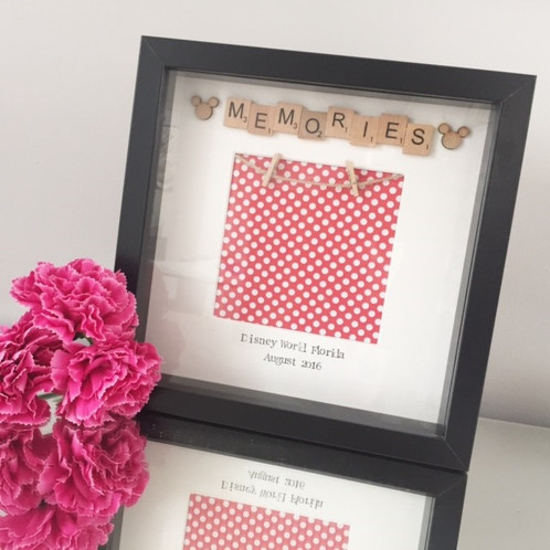 Disney Memories Frame | Crafty Gems - Personalised Frames - Wedding ...