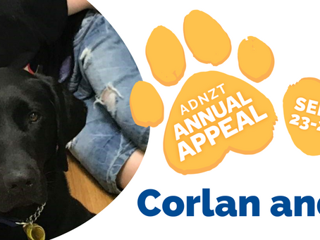 2021 Annual Appeal - Corlan and Rhys