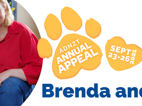 2021 Annual Appeal - Brenda and Pip