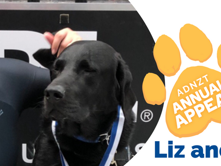 2021 Annual Appeal - Liz and Paddy