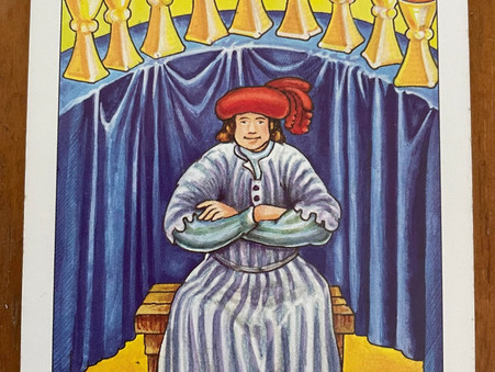 Card Of The Day - Nine Of Cups