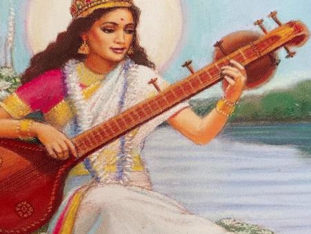 Weekly Goddess - Saraswati