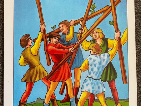 Card of The Day - Five of Wands