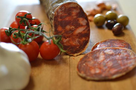 chorizo-olives-tomatoes