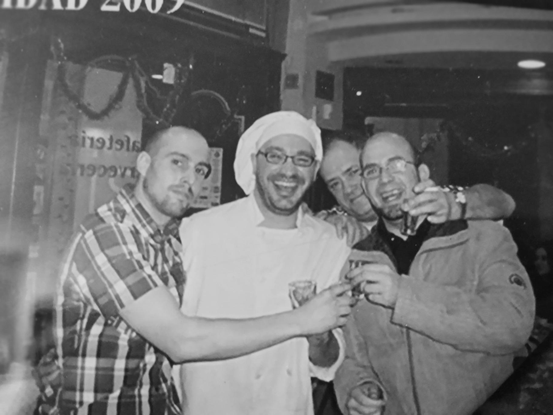 David, Miguel, Amtonio y Pedro