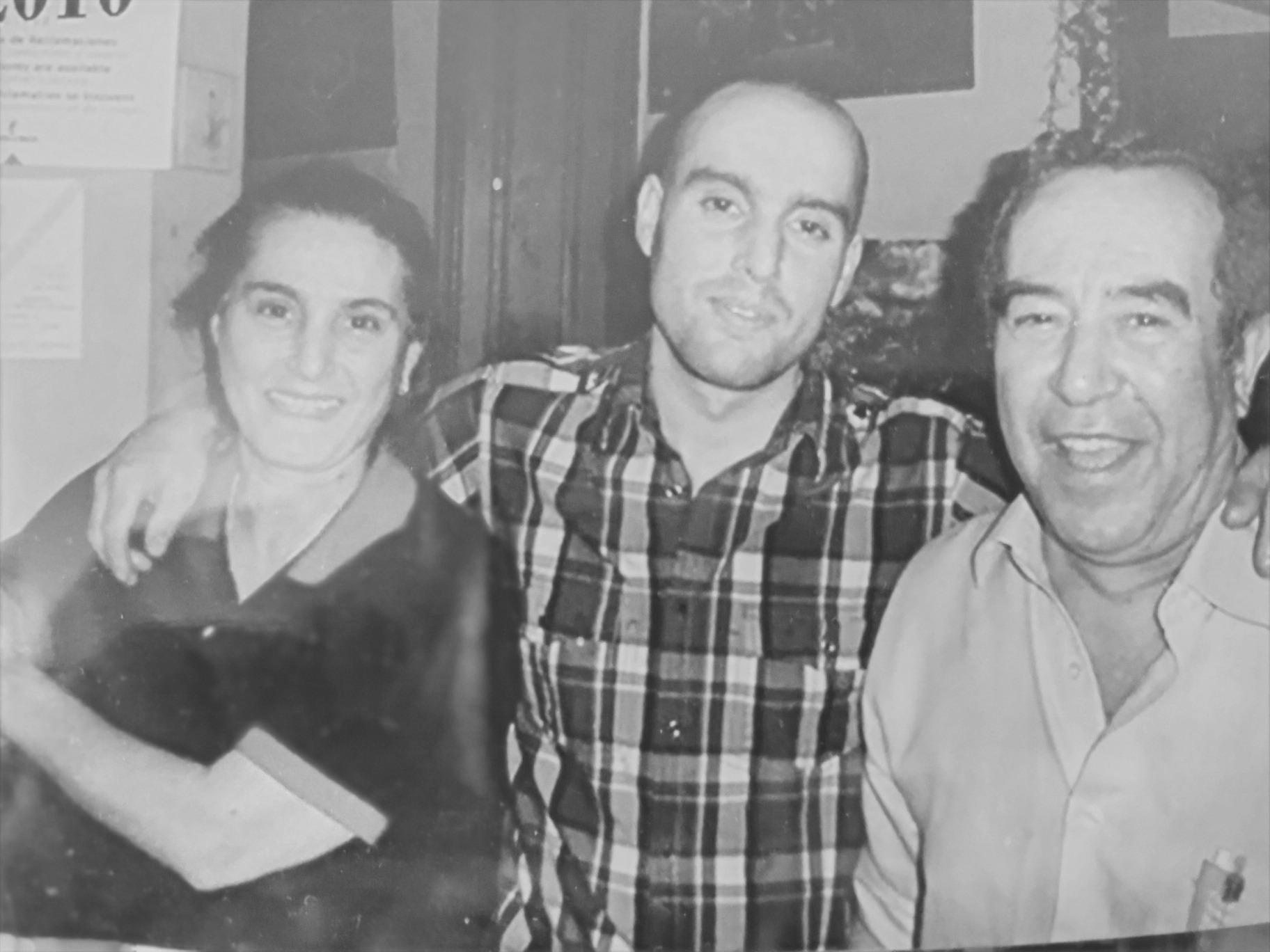 David con Pablo y Paula (Padres)