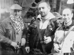 Iker, Alain e Iñaki