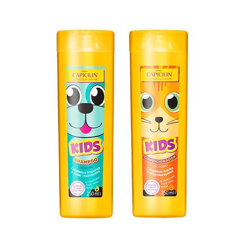 Capicilin KIDS Shampoo + Acondicionador 250ml