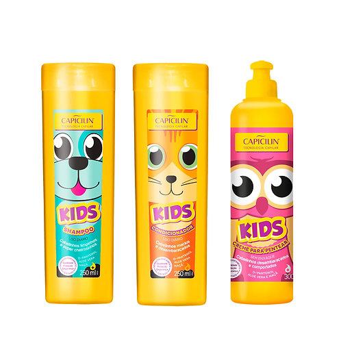 Capicilin KIDS Shampoo + Acond + Crema peinar