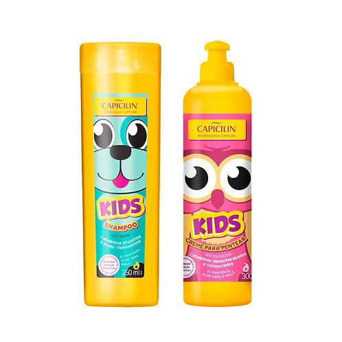 Capicilin KIDS Shampoo + Crema para peinar