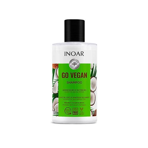 Inoar Go Vegan Hidratación Shampoo 300ml