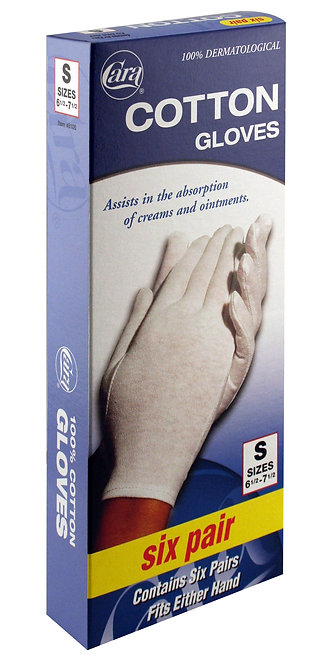 Model #8100 - Dermatological Cotton Gloves, Small