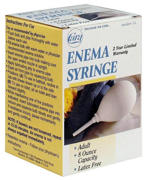 Model #14 - 8 oz Adult Enema Syringe