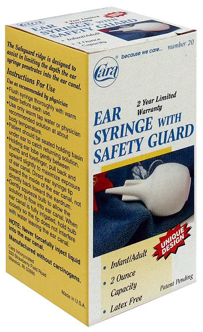 Model #20 - 2 oz Ear Syringe