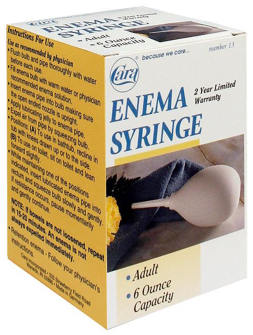 Model #13 - 6 oz Adult Enema Syringe