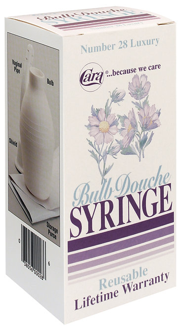 Model 28 - Feminine Luxury Bulb Syringe