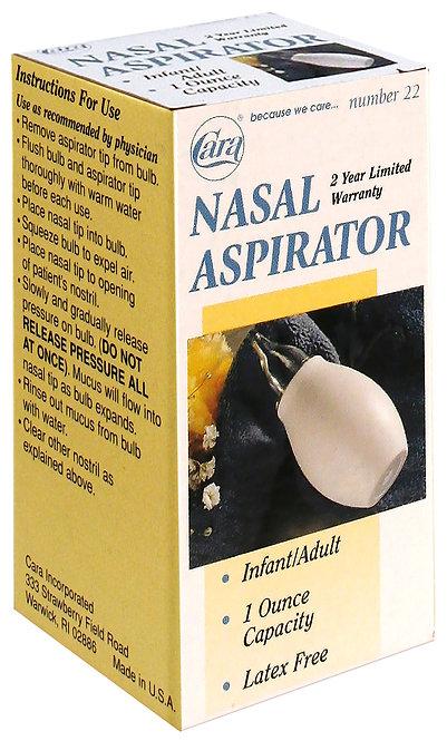 Model #22 - 1 oz Nasal Aspirator