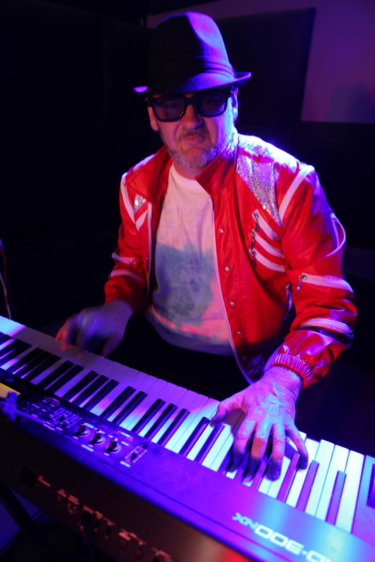 Steve on keys