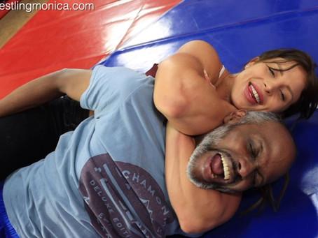 Sheena kicks Andrew Arse-Custom