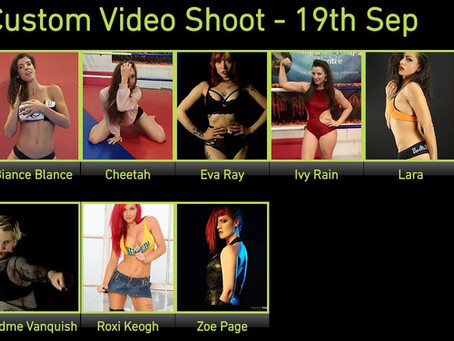 Huge Custom Shoot 19th September