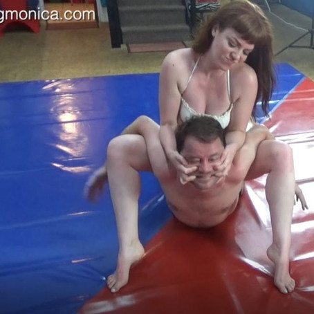 Zoe Page dominates Chicken Boy Dave